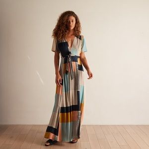 NWT The ODells Maxi Dress XS